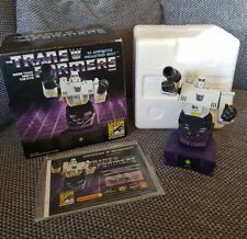 DIAMOND SELECT TRANSFORMERS BUST SDCC EXCLUSIVE MEGATRON G1 ANIMATED RARE