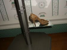 1998 -Just The Right Shoe -Raine Collection- Leopard Stiletto-Good Cond.