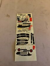 Jetfire Decal Sticker Sheet G1 Transformers 1985 Vintage Hasbro Action Figure