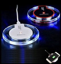 WiFi Charging Pad QI Wireless Charger Mat Dock For NEW iPhone 8 X,Samsung S6 7 8