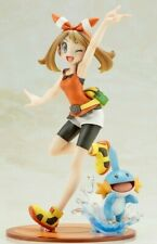 Pokemon MAY(HARUKA) with MUDKIP 1/8 PVC Figure Kotobukiya 2019 Japan ARTFX J
