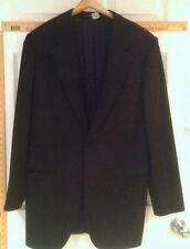HUGO BOSS Black Wool Lined Tuxedo Jacket Men's 42L
