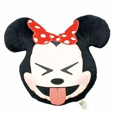 Disney Emoji Plush Minnie Mouse Eye Squint Bed Nap Travel Pillow