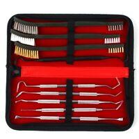 9pcs Gun Cleaning Kit For Rifle Pistol Handgun Shotgun Cleaning Set Gun Brush