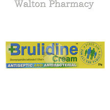 Brulidine Cream antiseptic and antibacterial cream From a UK reg PHARMACY 25g