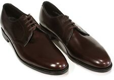 New Vtg E T Wright Masterpiece Shoes 11.5AAA Burgundy Plain Toe Arch Preserver