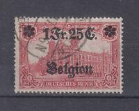 Deutsches Reich Briefmarken 1916 Landespost in Belgien Mi.Nr.8 gestempelt