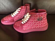 New listing *New* Michael Kors Pink Sneaker Boots Shoes Girls Size 1
