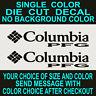Columbia PFG Jacket Die Cut Vinyl Decal set of 2 Car Truck Window Laptop Sticker