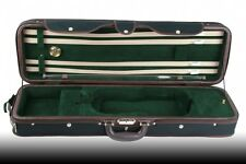 Petz elegantes, sehr leichtes 4/4 Geigenetui Violin Etui Case schwarz/beige/grün