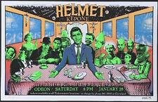 "MINT/SIGNED/DOODLED Helmet Kepone 1995 EMEK ""Twilight Zone"" Silkscreen Poster"