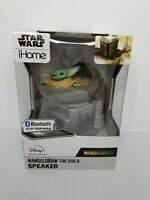 Star Wars The Mandalorian The Child Baby Yoda iHome Bluetooth Wireless Speaker