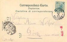 """ÖSTERREICH """"KOTOR - CATTARO"""" (Montenegro) K1, 1903 a. farb. AK m. 5 H. u. selt."""