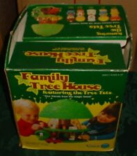 Kenner Tree Tots Family Tree House With Box Incomplete
