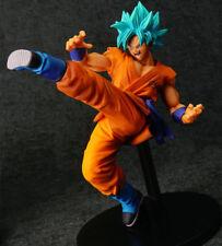 FES Dragon Ball Super Saiyan God Blue Son Goku Figure Figurine Statue 2 No Box