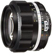 Voigtlander NOKTON 58mm F1.4 SL II Ai-S Black Rim for Nikon F Mount NIB 231634