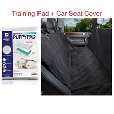 Set Washable Training Pad Dog Pets + Car Seat Cover Full Protection Waterproof