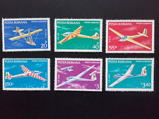 1977 - Romania - Gliders, Mi. 3411 - 3416,MNH