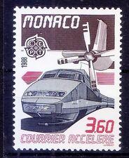 Transport, Train, Railways, Europa, Monaco 1988 MNH  -Tr72