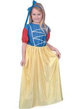 BIANCANEVE Costume Età 3-5 Fairytale Natale Natività Costume Per Bambini
