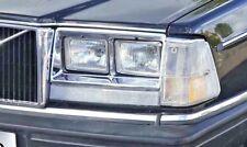 4x Scheinwerfer Volvo 240 260 242 244 246 Turbo Umrüstung US zu EU Umbau Umrüst