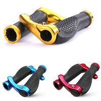 MTB Mountain Bike Bicycle Handlebar Rubber Grips Cycling Lock-On Bar Ends Nice