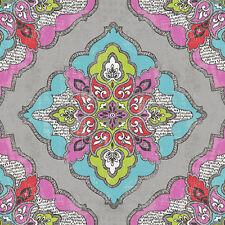 20 Lunch Paper Napkins KALEIDOSCOPE Decoration DECOUPAGE India Style Pattern