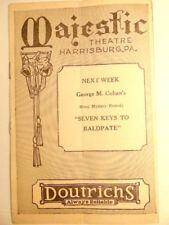 "1931-32 season playbill:  Majestic Theatre, Harrisburg, PA: ""It's a Wise Child"""