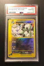 Pokemon Card PSA 10 Magneton Reverse Foil - Skyridge - Gem Mint #20/144