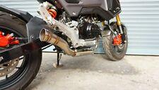 ZoOM Exhaust Honda GROM 125 MSX SF OG 2013-2020 Full System The Brute Low Mount