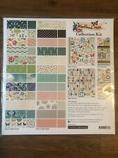 October Afternoon Woodland Park Collection 12x12 Paper Stickers New