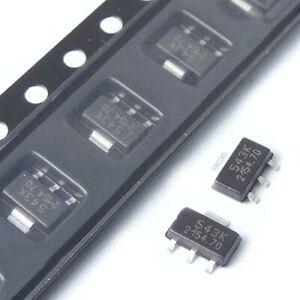 [10pcs] HAL543SFK Hall Sensor SOT89