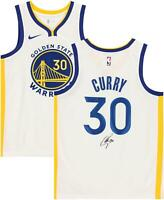 Stephen Curry Golden State Warriors Signed White 2019/20 Swingman Jersey
