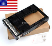 """651314-001 3.5"""" Tray Caddy w/2.5"""" 661914-001 Adapter For HP DL380P DL385P G8 G9"""