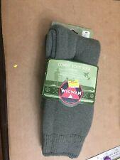 Wigwam Combat Boot Wool Socks  Medium 2 Pack Duty Cushion Warm Durable