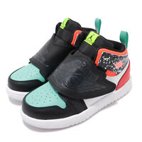 Nike Sky Jordan 1 TD Composition Notebook Black White Toddler Infant BQ7196-009