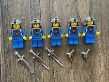Lego - Lot of 5 Castle Knights' Kingdom Mini Figures
