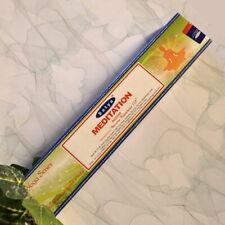 48 € / 100 g Räucherstäbchen MEDITATION - SATYA - aus Indien - natürliche Düfte