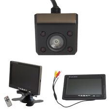 Rückfahrkamera unterbau Aufbau 12V mit 7 Zoll Monitor IR Kennzeichen Nachtsicht