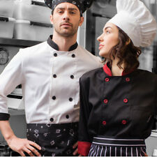 chef overalls kitchen clothes hotel chefs uniforms overalls  chef Apron Jacket