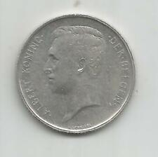 85B) BELGIUM 1 FRANK 1911 - SILVER 0,835 - XF/EBC