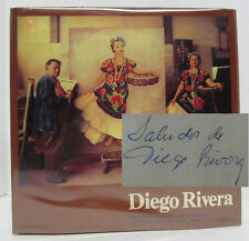 """DIEGO RIVERA: Exposicion Nacional de Homenaje"" + program SIGNED by Diego Rivera"