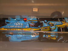 BRAND NEW HOT WHEELS ALONSO RENAULT R25 CONSTRUCTORS AND 2005 WORLD CHAMPION