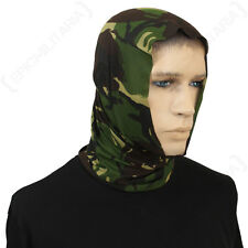 DPM Camo Multi Function Scarf - Snood Wrap Balaclava Head Scarf Band Military