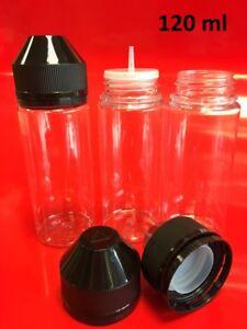 120ml Empty Plastic DIY Bottles, Squeezable, packs 5~40