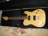 Schecter PT Guitar & HardShell Case...Upgraded Real Seymour Duncan PickUps!