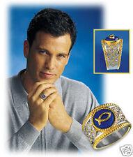 Size 8 - Franklin Mint Symbol of Faith Men's Ring -