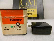 NOS GM A/C 12 Volt Generator Relay Marine 1953-56 Chris Craft 59-61 Palmer
