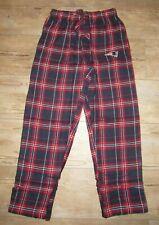 New England Patriots Flannel Pajama Pants Lounge Bottoms size Men's Medium