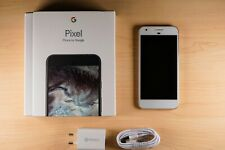 Google Pixel - 32GB - Very Silver Android Smartphone with Box Etc